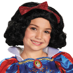 Disney Kids Snow White Wig 100-218193