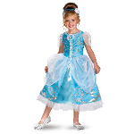 Disney Cinderella Deluxe Sparkle Toddler/Child Costume 100-218210