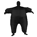 Black Inflatable Adult Suit 100-217464