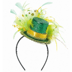 St. Patrick's Day Feathered Headband 100-209698