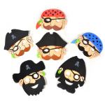 Foam Pirate Masks 101-225574