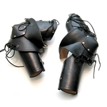 Three Quarter Italian Leather Arm Armour BTS-2139