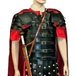 Leather Lorica Segmentata with Shoulders BTS-2450