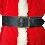 Leather Santa Claus Belt