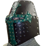 Leather Great Helm BTS-4000