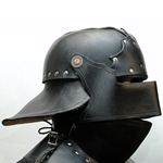 Leather Sallet Helm BTS-4020