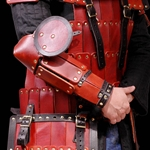 Dark Age Warrior Half Arm Armour
