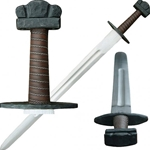 Viking Sword BTS-H002