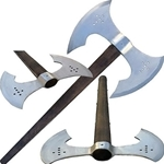 Double Head Medieval Axe CD-198