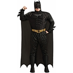 Plus Size Deluxe Muscle Chest Batman Costume CU17497