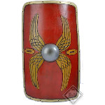 Latex Roman Trooper Shield 34.5in FD003