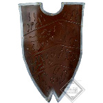 Latex Gothic Shield 26.5in FD005