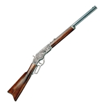 Winchester 1873 Lever-Action Repeating Rifle Pewter FD1253G