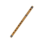 Flute Cane in Bamboo in G4