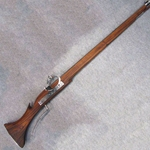 Fishtail Matchlock Musket Rifle