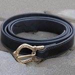 Norman Saxon Leather Belt GH0020