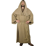 Medieval Monks Robe and Hood Set