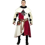 Arming Jacket, Surcoat with Hood Set GH0048