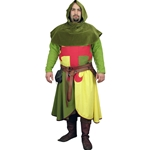Arming Jacket, Surcoat with Hood LARP Set GH0049