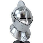 European Close Helm - 16 Gauge Steel