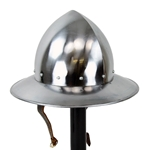15th Century Kettle Hat - 16 Gauge Steel