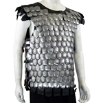 Scale Armor Cuirass - Steel Scales,Scale Armor,Steel Scales,Scale Armor Cuirass,scale Armour,Medieval Scale armor,Scale Armor,Plain armor,wearable armor,scale chest armor,Scale Cuirass,Scale Armor Breastplate,Scale Breastplate