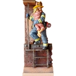 New York Fire Fighter 1-Resin Figurine MEFWR006