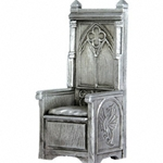 King Arthurs Throne Pewter Sculpture