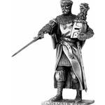 Sir Gawaine and Chair Pewter Sculpture