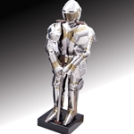 Knight in Two Tone Armor Miniature Paul Chen Hanwei MH1022