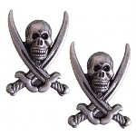 Pirate Sword Hanger Pewter OD19G