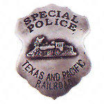 Special Police Western Badge Railroad OH3030