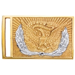 U.S. Sword Buckle Silver Wreath