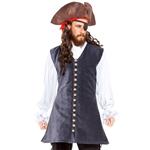 Plus Size Captain Pirate Vest