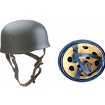 German WWII Paratrooper Helmet Ready For Use RFU6041