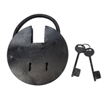 Giant Medieval Dungeon Padlock - Round