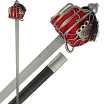 Basket Hilt Backsword CAS Hanwei SH2003 Functional and Battle Ready