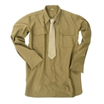US M37 OD Wool Field Shirt WWII Repro