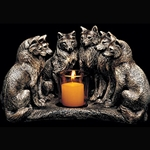 Wolf Council Candlelamp WE-2016