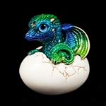 Hatching Dragon Version 2 – Emerald Peacock