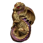 Young Dragon Sculpture Gold 504-GO