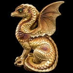 Spectral Dragon Sculpture Gold