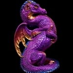 Emperor Dragon Statue in Amethyst