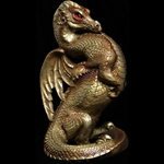 Emperor Dragon Sculpture Gold