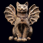 Little Happy Cat Gargoyle  965