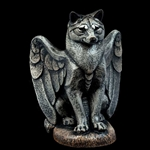 Small Winged Spirit Wolf Gargoyle 967