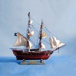 "Caribbean Pirate Ship 26"" - White 143-A2203W"