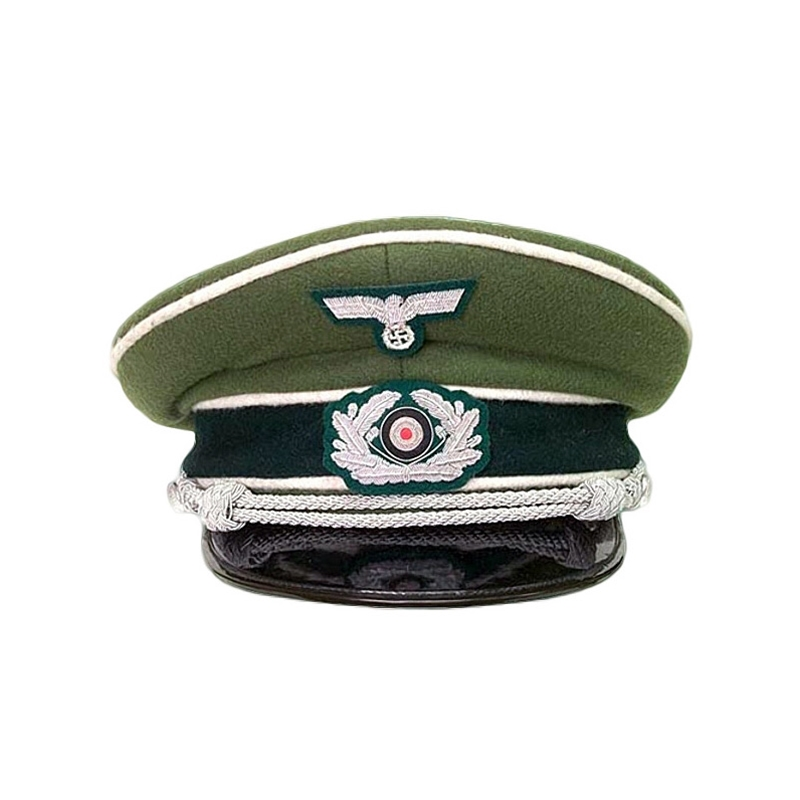 1087f3b6c7a By The Sword - German Army Officer s Cap WWII Reproduction