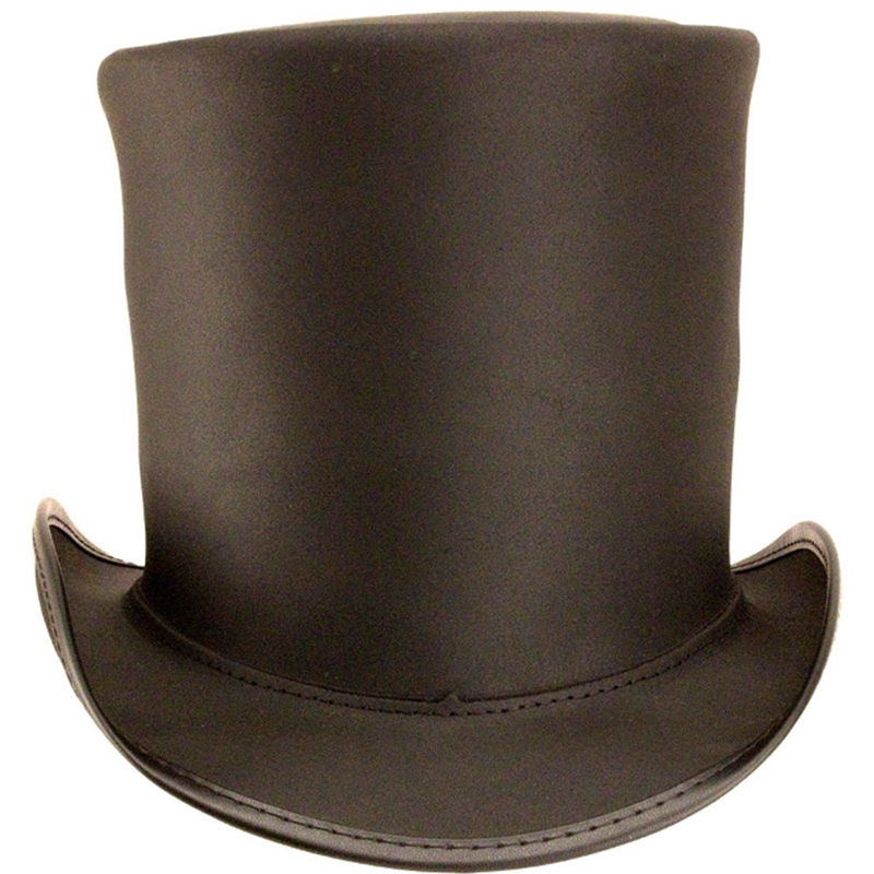 Party stove pipe black hat — pic 11