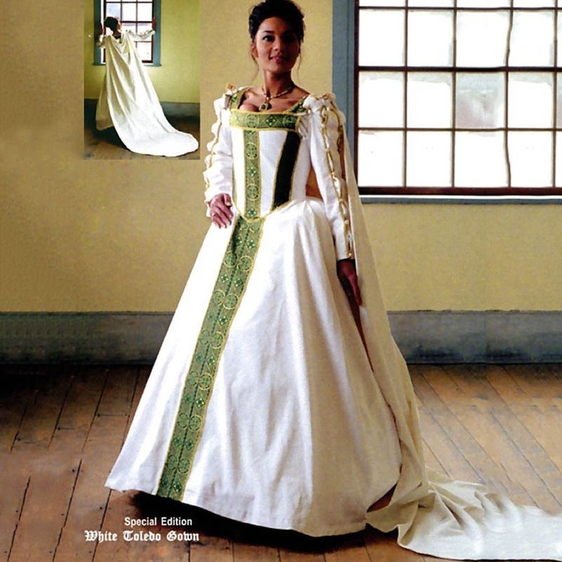 By The Sword Renaissance Wedding Gown Vl Wtg